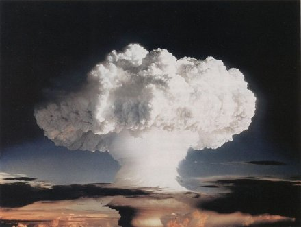 Today's Trivia November 1, 1952: First hydrogen bomb explosion