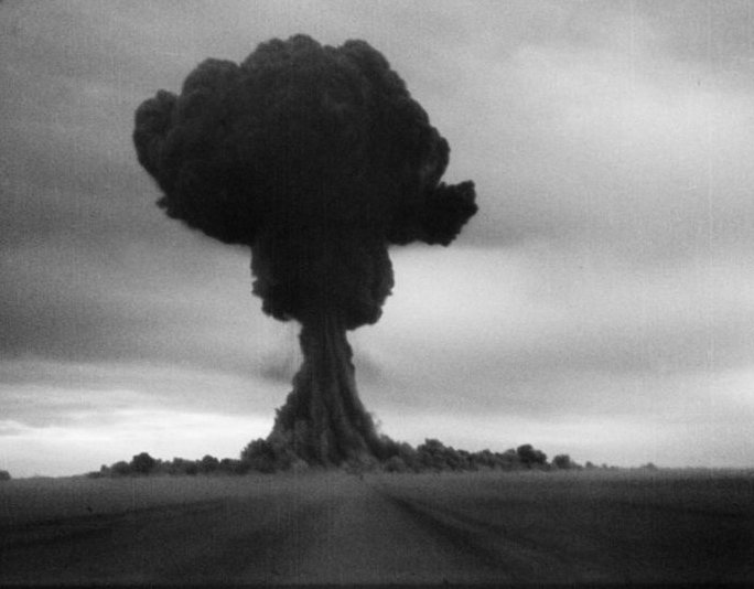 1949 Atomic Bomb The USSR makes their first atomic bomb test.